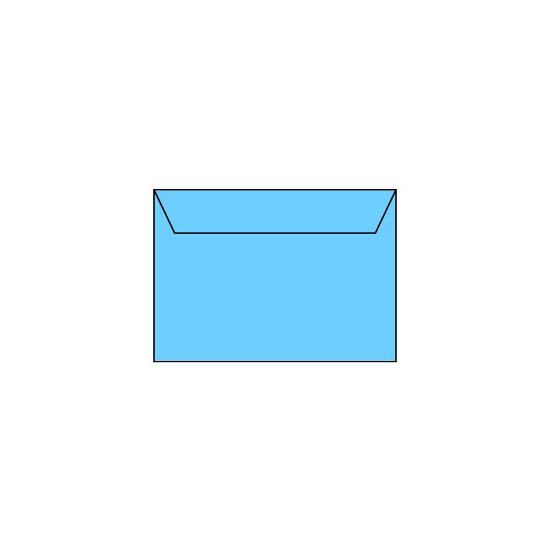 B6 126x176mm plavi