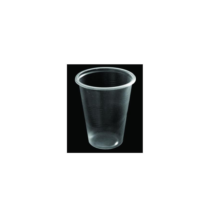 Plastične čaše 2 dcl providna 100/1