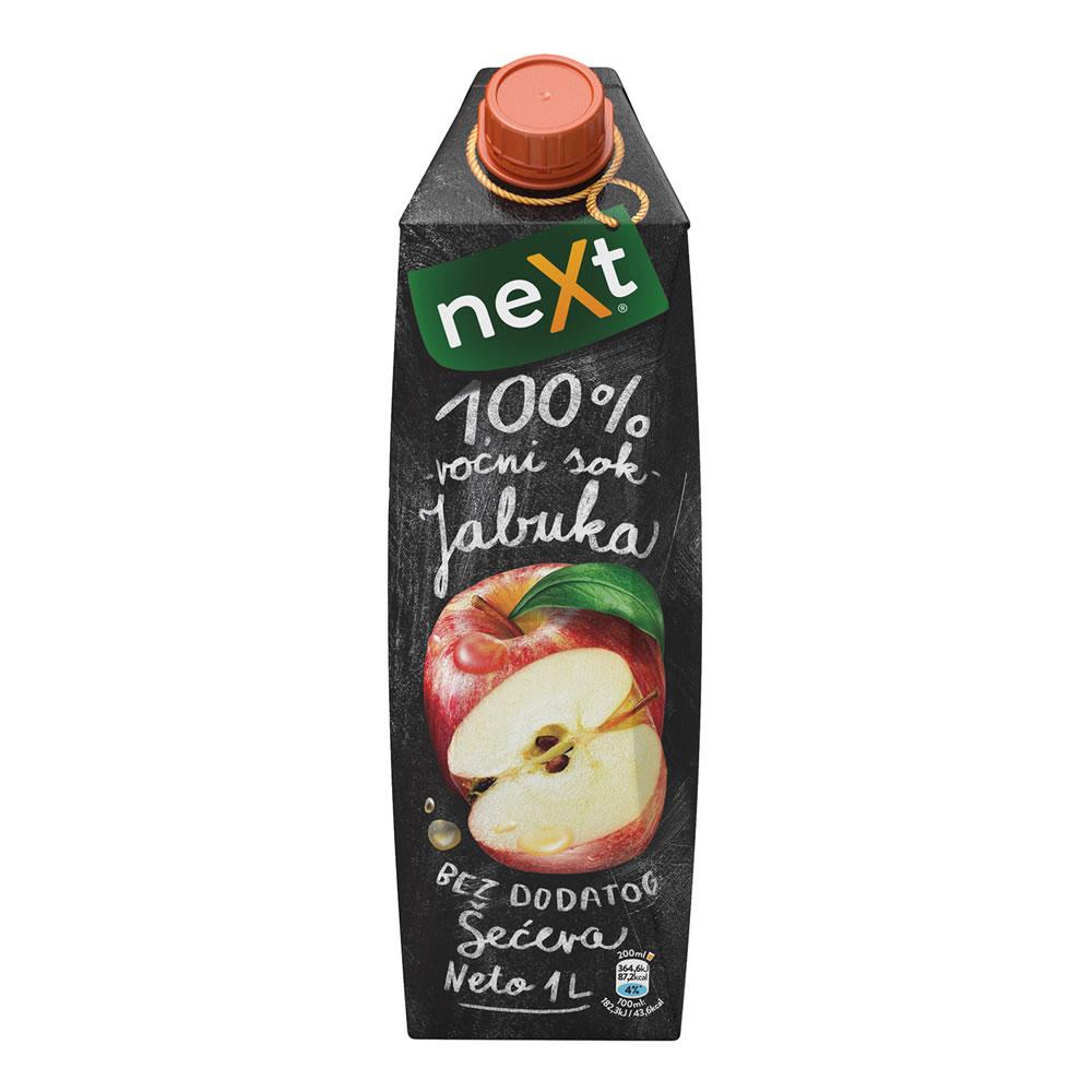Sok NEXT Premium Jabuka 100% 1L